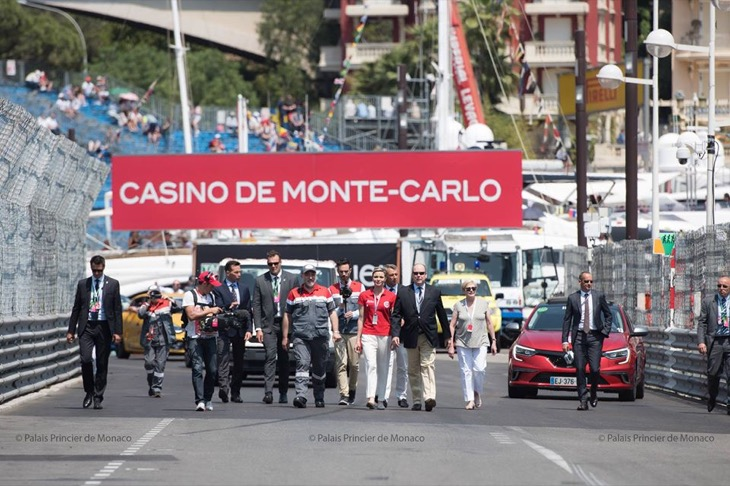 Princess Charlene Stuns at the 75th Annual Monaco Grand Prix