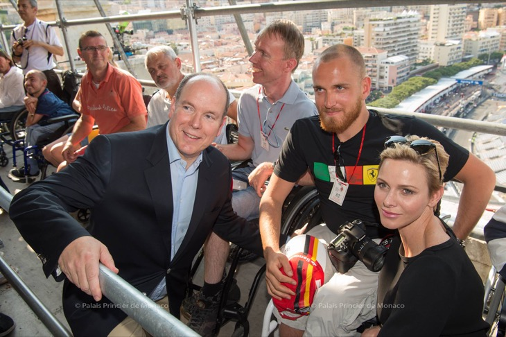 Princess Charlene Stuns at the 75th Annual Monaco Grand Prix