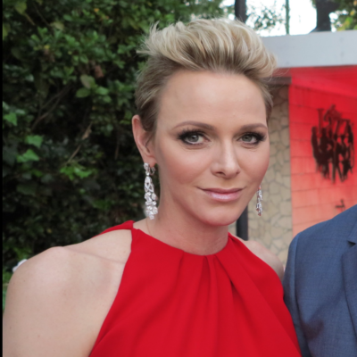 Princess Charlene All Smiles While Celebrating Monaco's League 1 Championship