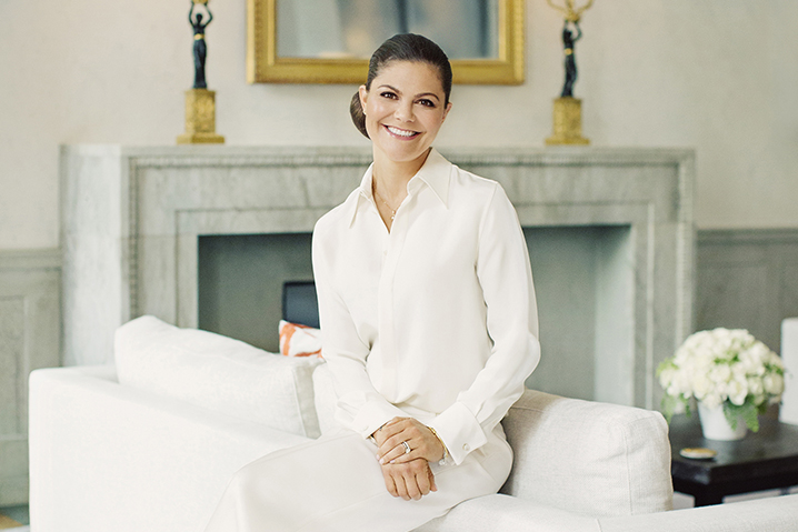Crown Princess Victoria 40th Birthday Portraits Released By Royal Court of Sweden