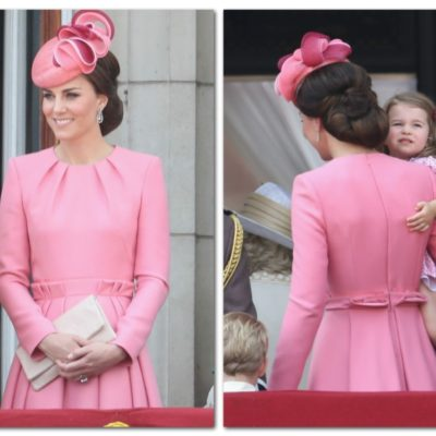 Everything You Need to Know About Kate Middleton's Hot Pink McQueen Dress at Trooping the Color