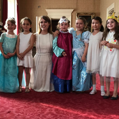 Princess Eugenie Hosts a Real Princess Party at Buckingham Palace