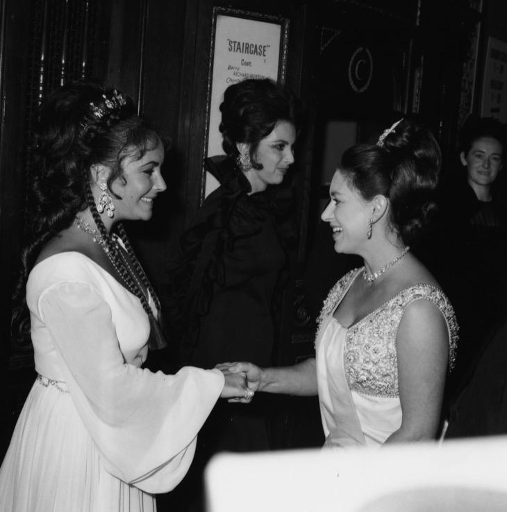 Elizabeth Taylor And Princess Margaret