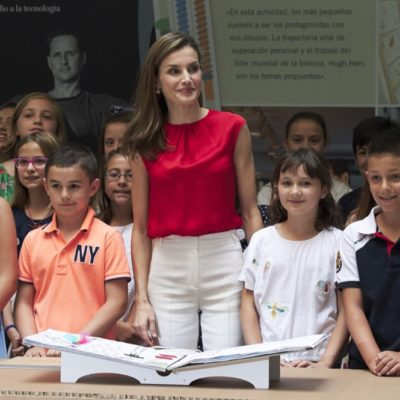 Queen Letizia Stuns As She Launches Cultural Program in Northern Spain