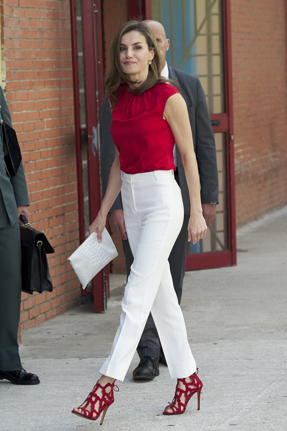Queen Letizia of Spain Attends 'Toma La Palabra' In Asturias