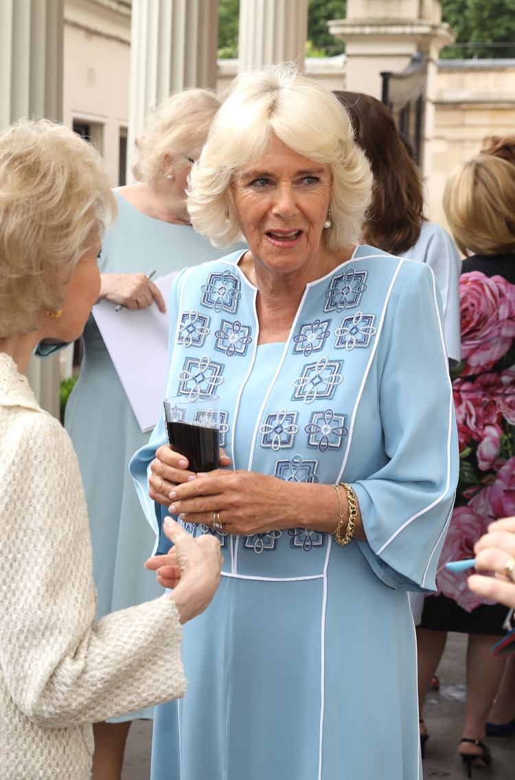 The Prince Of Wales And The Duchess Of Cornwall Attend A Reception To Mark Her Royal Highness' 70th Birthday