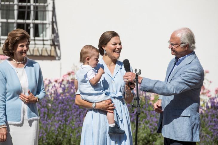 Crown Princess Victoria of Sweden 40th Birthday Celebrations in Solliden