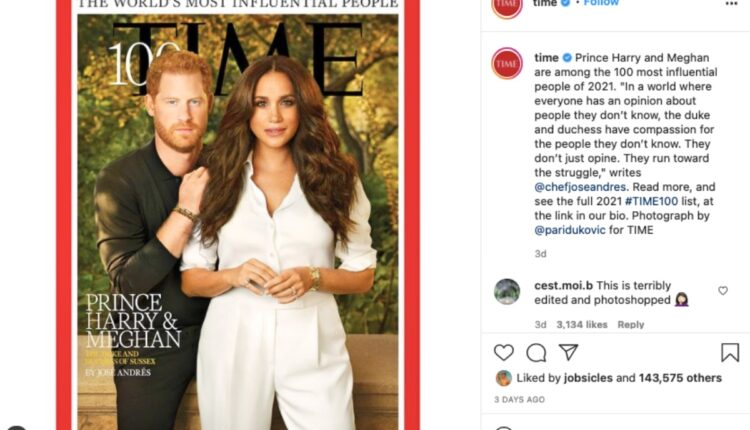 Royal News-Harry and Meghan's Time Magazine -2