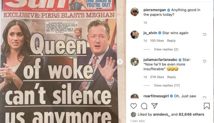 Royal News-Piers Morgan -1