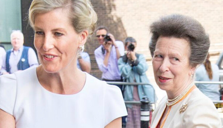 Royal News-Princess Anne and Sophie Wessex-1