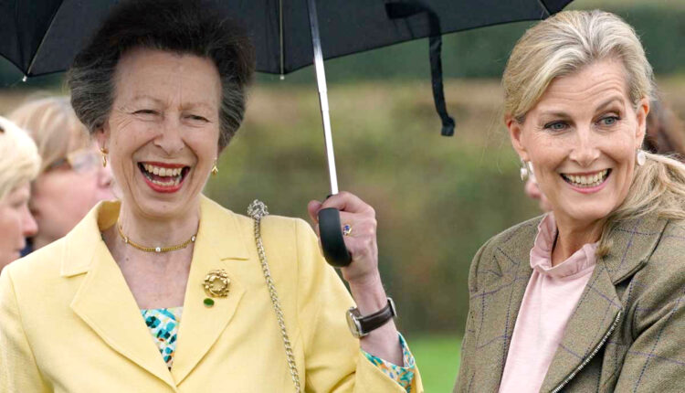 Royal News-Princess Anne and Sophie Wessex-2