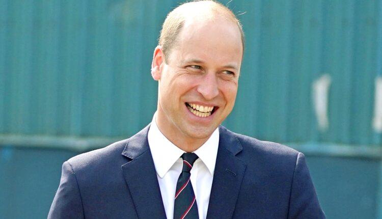 Prince William Visits BAE Systems Shipyard